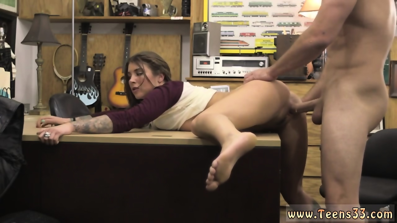 Fingering long hair domina