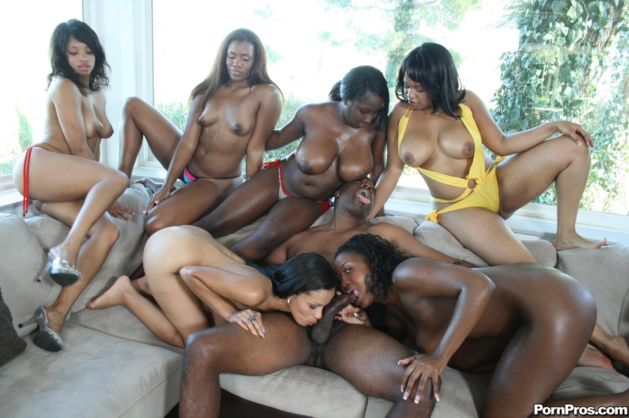 foursome Slut natural ebony