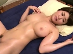 skinny first hair time Double blowjob long