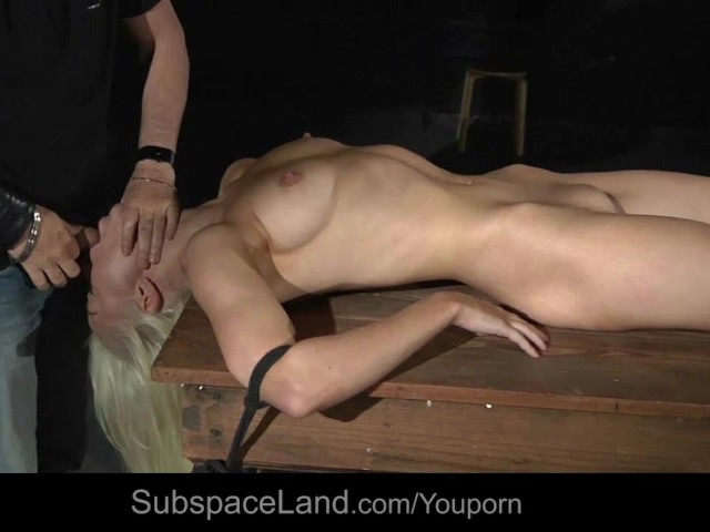 shaved Otngagged bdsm voyeur