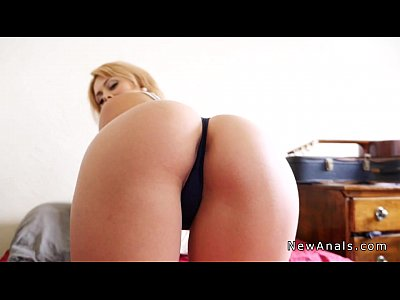 POV blonde bathroom Upskirt