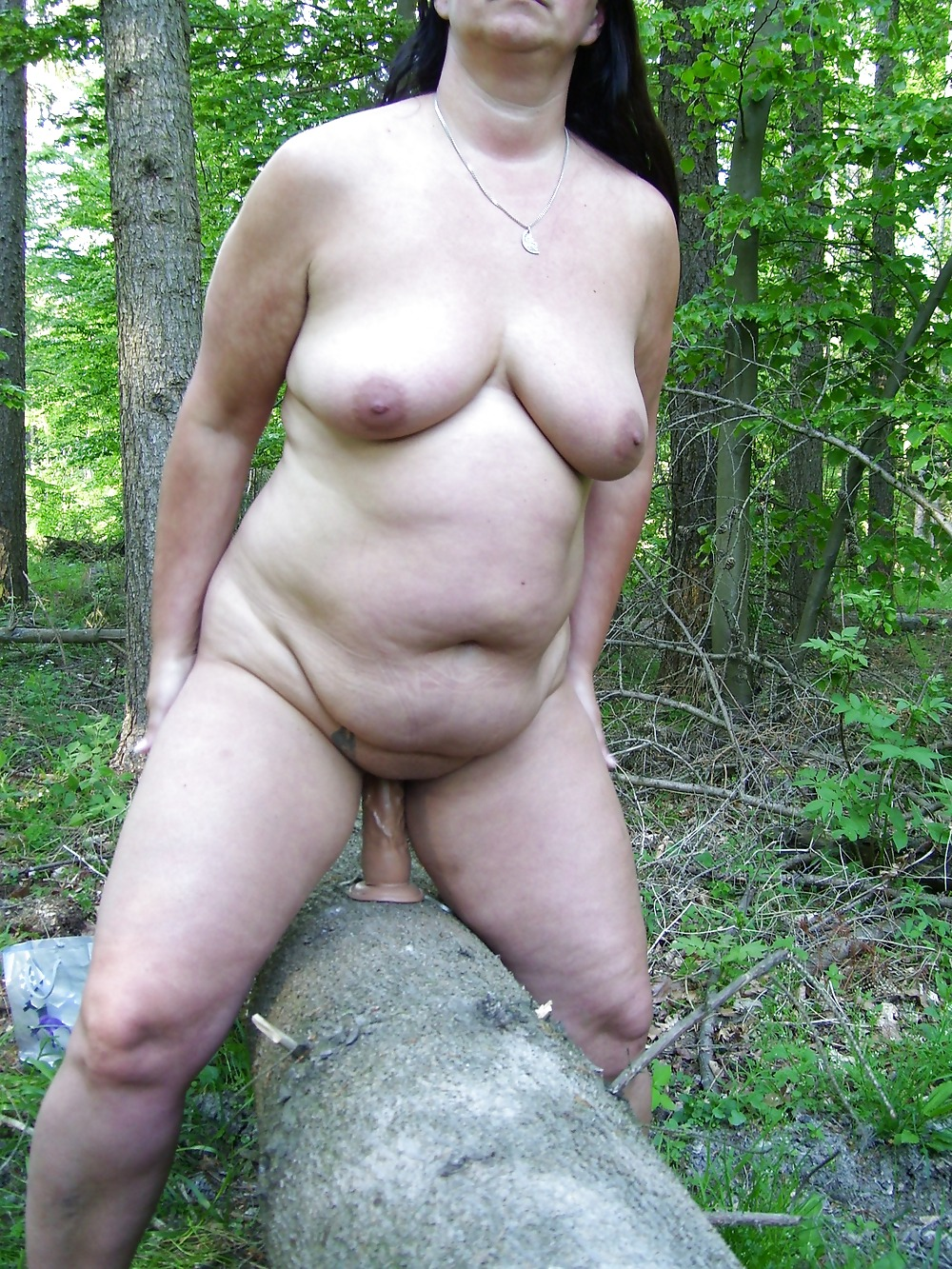Young asian busty outdoor