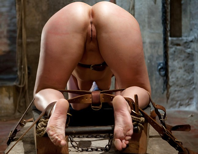 Secretary bondage cute messy
