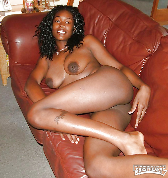 Slut ebony foursome natural
