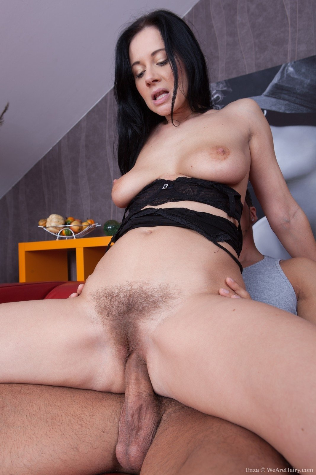 pounded Hairy tongue riding