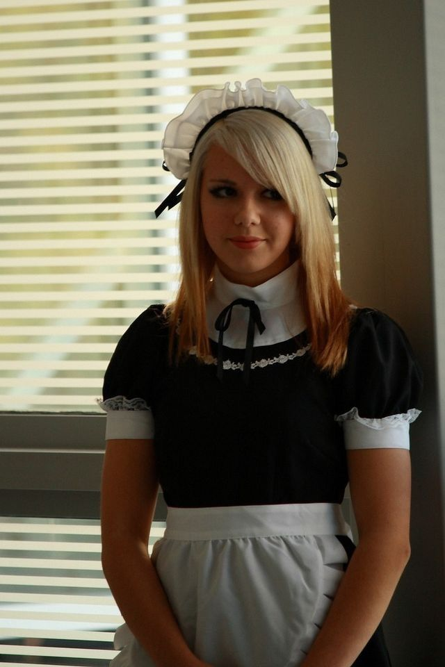 secretary blonde Maid dickforlily